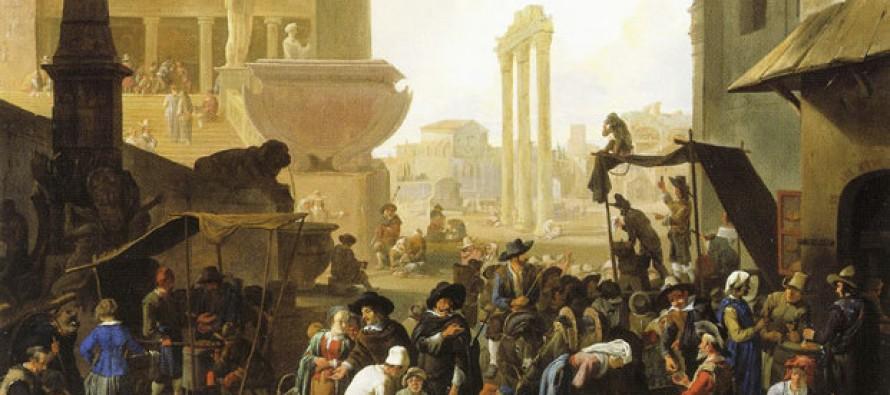Los forestieri en Roma entre '500 y '600