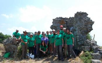 Campaña de excavación 2016 en Tusculum