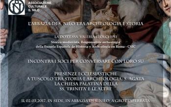 """Encuentro """"La presencia eclesiástica en Tusculum"""""""