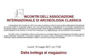 Incontri dell'Associazione Internazionale di Archeologia Classica