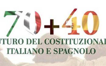 70 + 40: Il futuro del costituzionalismo italiano e spagnolo – 27-28 Settembre 2018