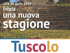 INIZIA UNA NUOVA STAGIONE TUSCOLO 2019,   13-14 aprile riapertura del Parco Archeologico e Culturale