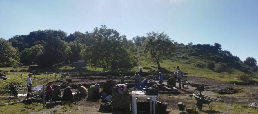 Fin de la XXII campaña de excavaciones en Tusculum