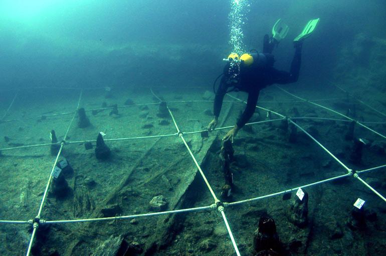Excavación del asentamiento de La Marmotta