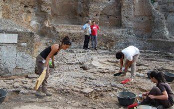 Investigaciones arqueológicas en la zona de Palazzo, Villa Adriana (Tivoli)/21 de Julio de 2020