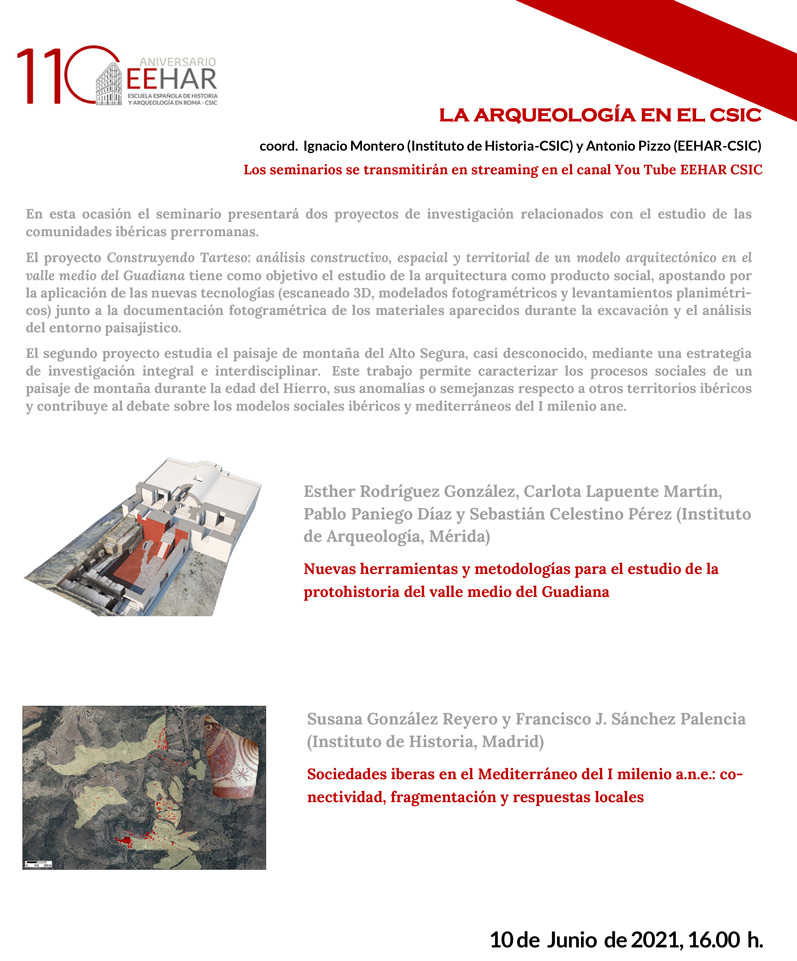 programa conferencia ciclo arqueologia junio
